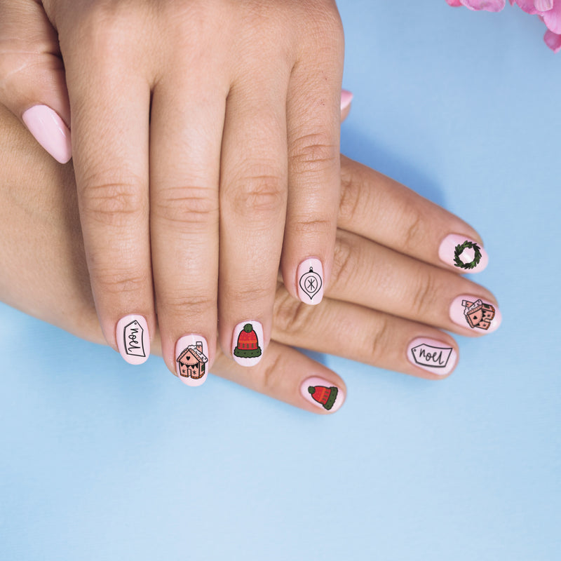 Winter Wonderland Nail Tattoos - House Of Wonderland, HOW