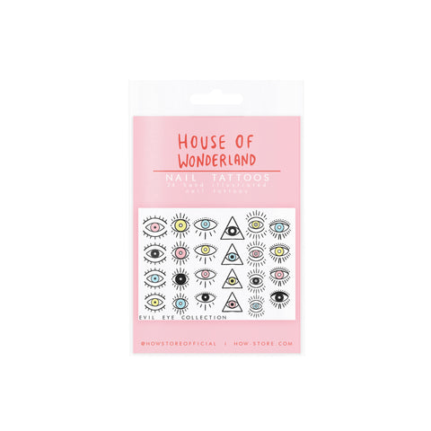 Gemstone Nail Tattoos