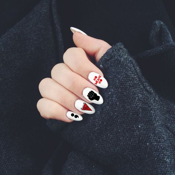 Girl Gang Nail Tattoos