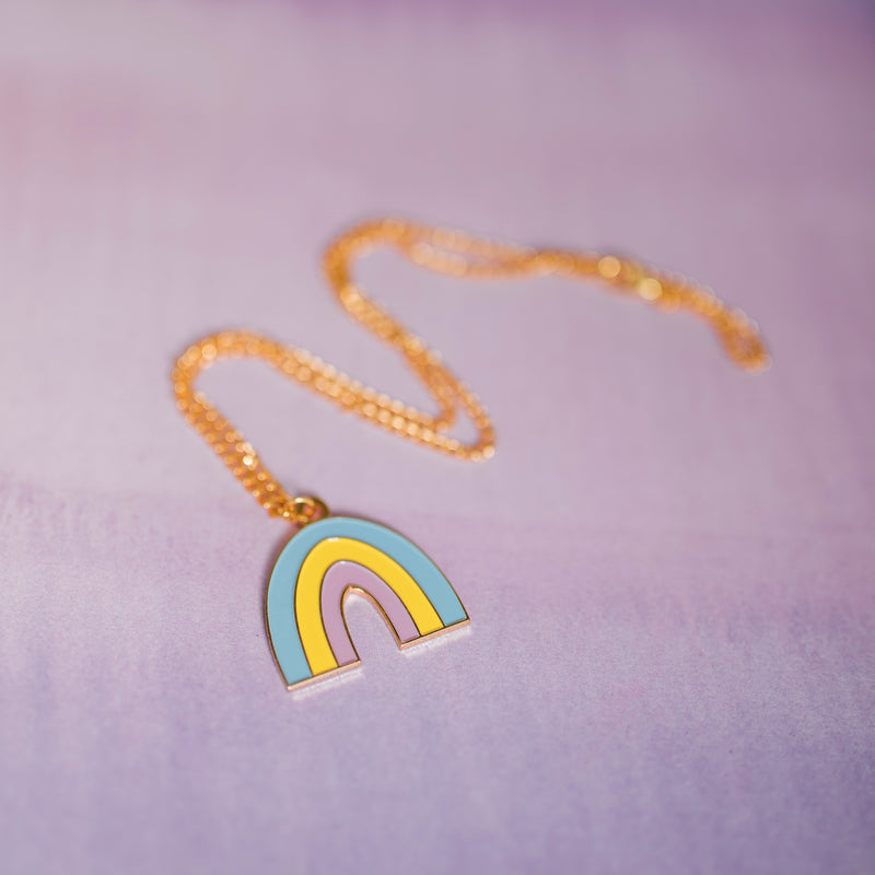Rainbow Necklace - House Of Wonderland