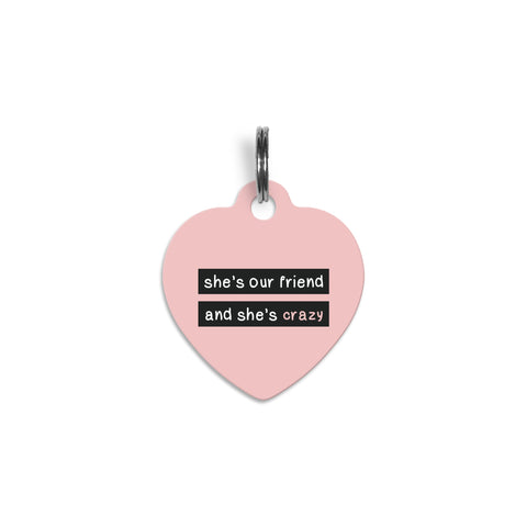 Heartbreaker Pet Tag