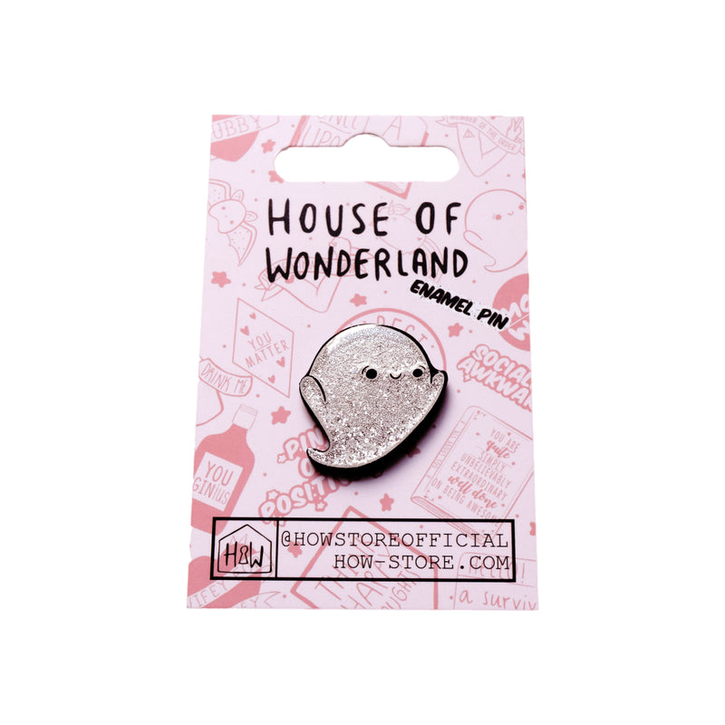 Ghost Enamel Pin - House Of Wonderland
