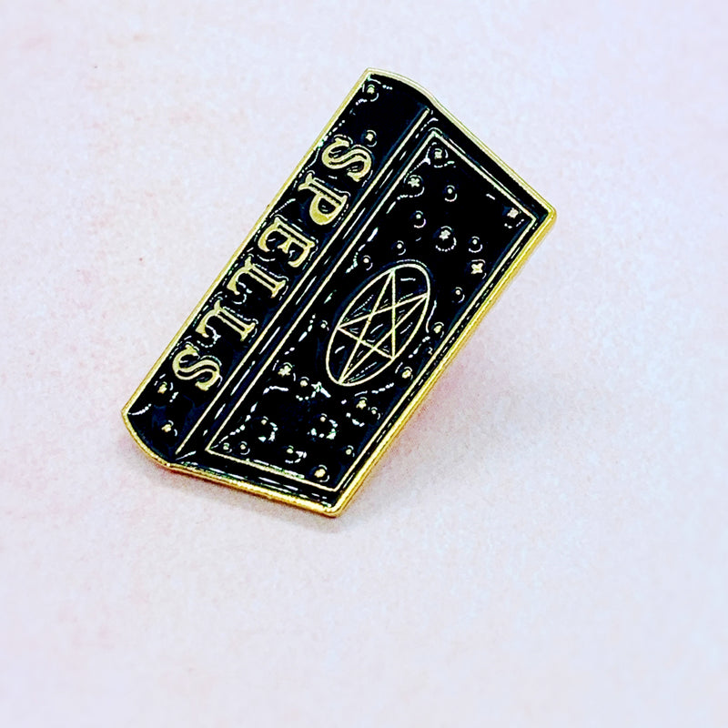 Spells Enamel Pin Badge