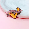 Leave Me Alone Enamel Pin