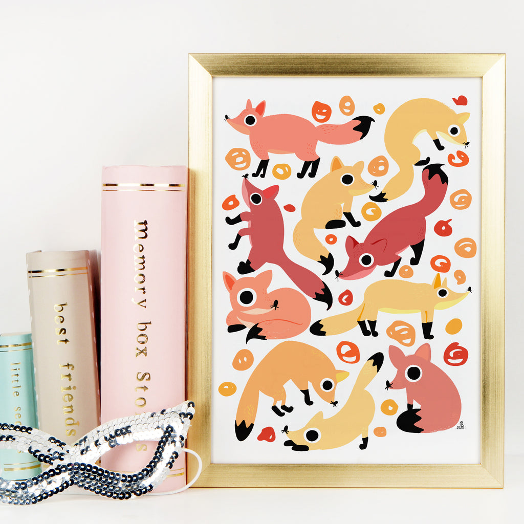 Fox Print - House Of Wonderland, HOW