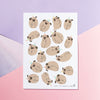 Pug Paradise Print - House Of Wonderland, HOW