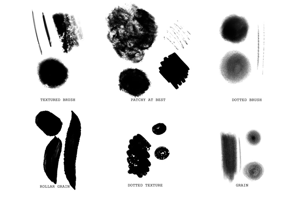 Procreate Texture Brush Pack