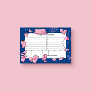 Productivity Planner Printable - House Of Wonderland, HOW