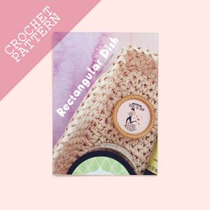 Rectangular Dish Crochet Pattern - House Of Wonderland, HOW