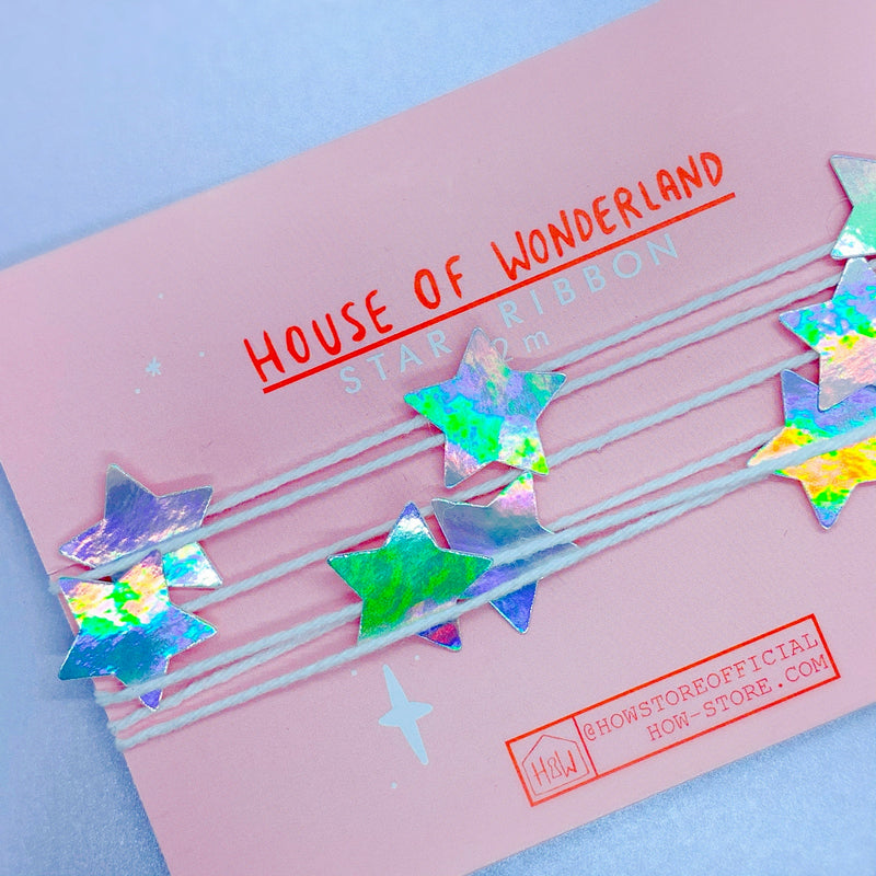 Star Ribbon Trim - House Of Wonderland, HOW