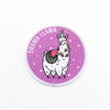 Drama Llama Iron on Patch - House Of Wonderland, HOW