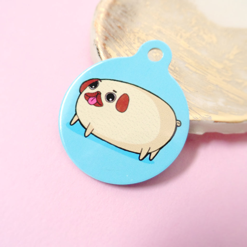 Pilfred The Pug Pet Tag - House Of Wonderland, HOW