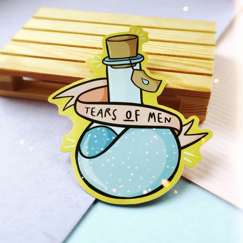 Tears Of Men Sticker - House Of Wonderland, HOW