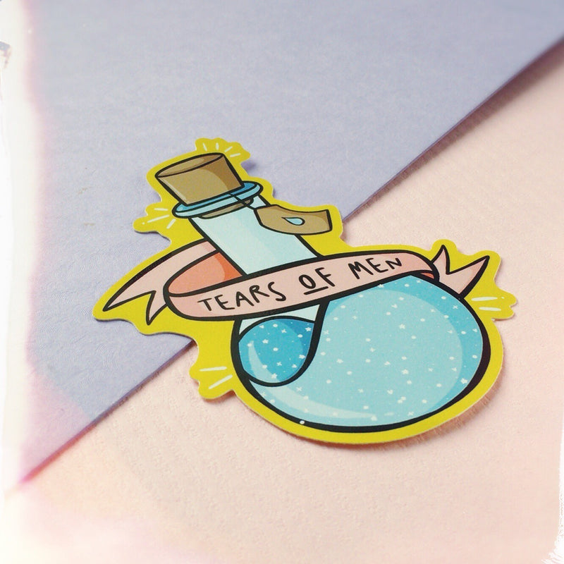 Tears Of Men Sticker - House Of Wonderland