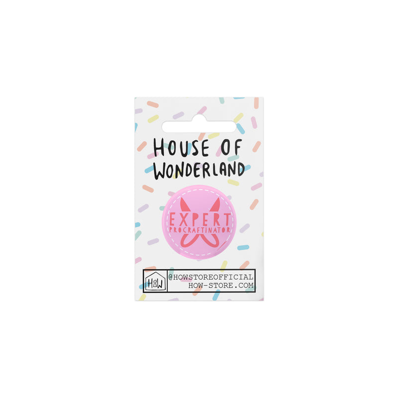 Expert Procraftinator Needle Minder - House Of Wonderland, HOW
