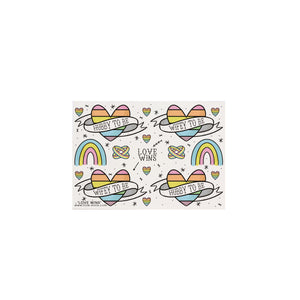 Love Wins Temporary Tattoos - House Of Wonderland, HOW