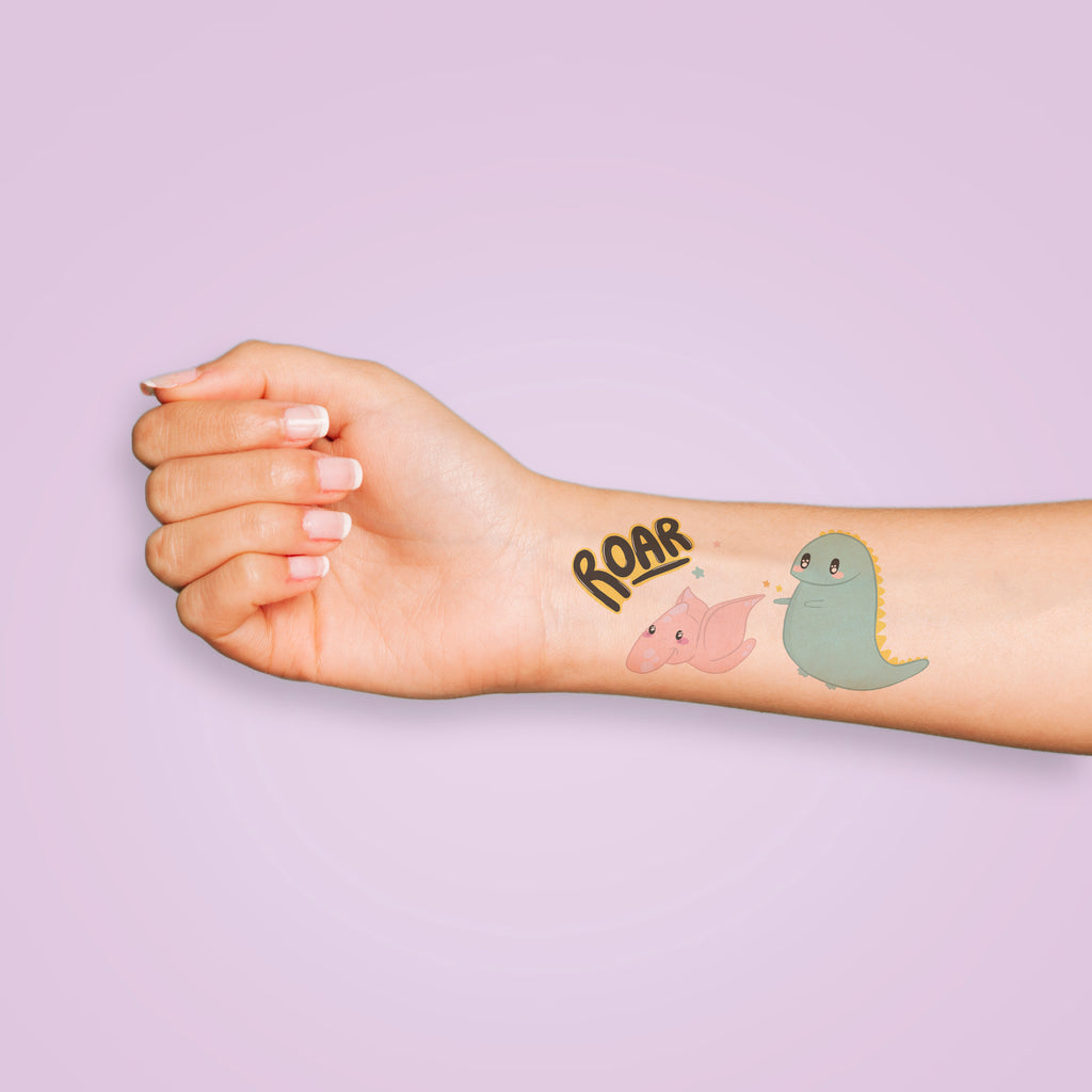 Dinosaur Temporary Tattoos - House Of Wonderland, HOW