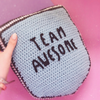 Team Awesome Cushion Crochet Pattern - House Of Wonderland