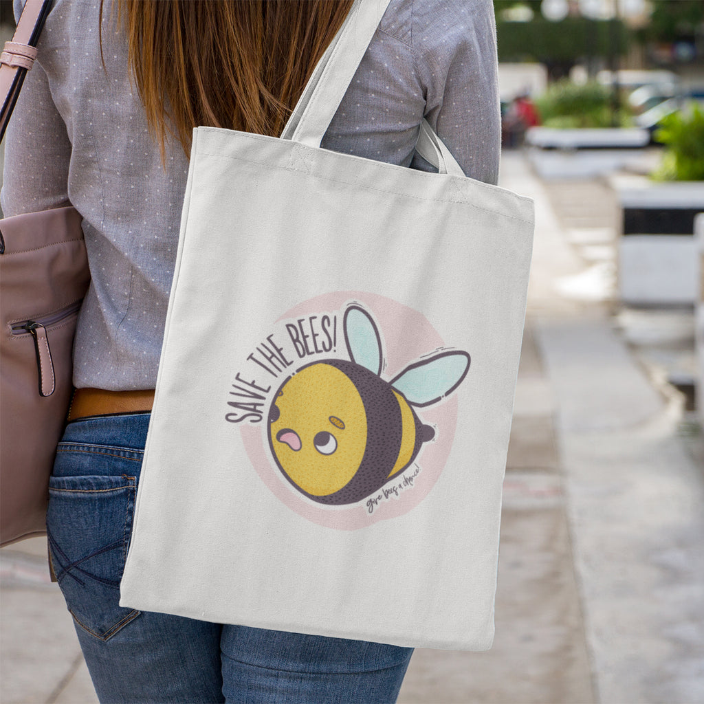 Save The Bees Tote Bag - House Of Wonderland, HOW