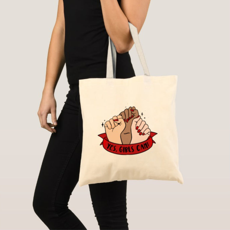 Girls Can Tote Bag - House Of Wonderland, HOW