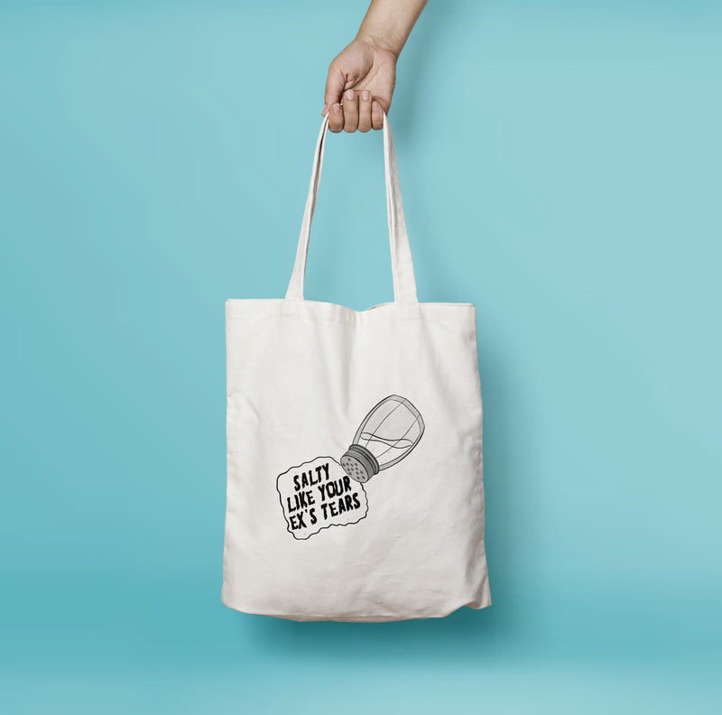 Salty Tears Tote Bag - House Of Wonderland, HOW
