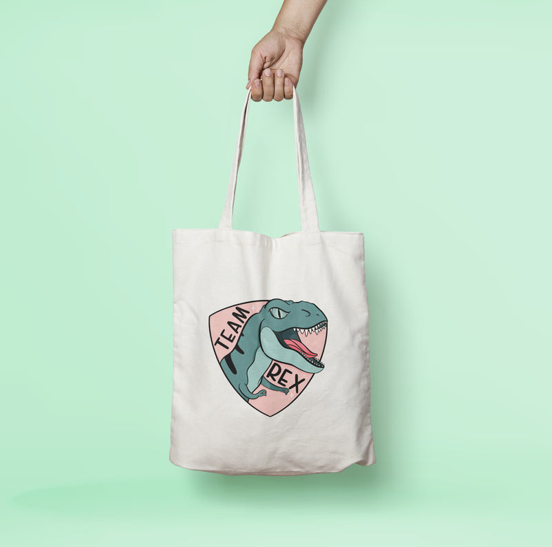 Team Rex Tote Bag - House Of Wonderland, HOW
