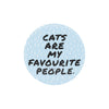 Protesting Cat - My Body Enamel Pin