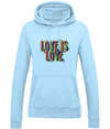 Love Is Love Hoodie - House Of Wonderland, HOW