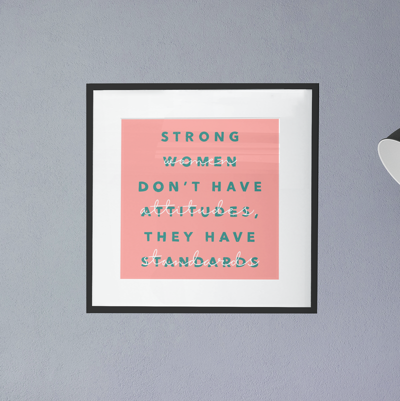 Strong Women Print - House Of Wonderland, HOW
