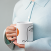 Abstract Face Mug - Style 3 - House Of Wonderland, HOW