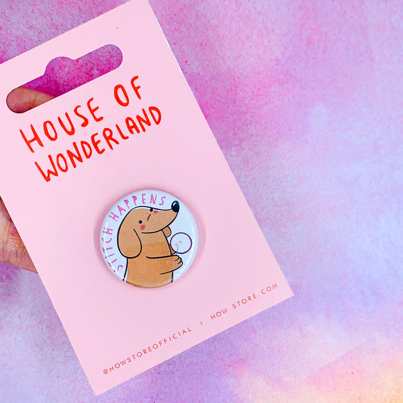 Stitch Happens Needle Minder - House Of Wonderland, HOW