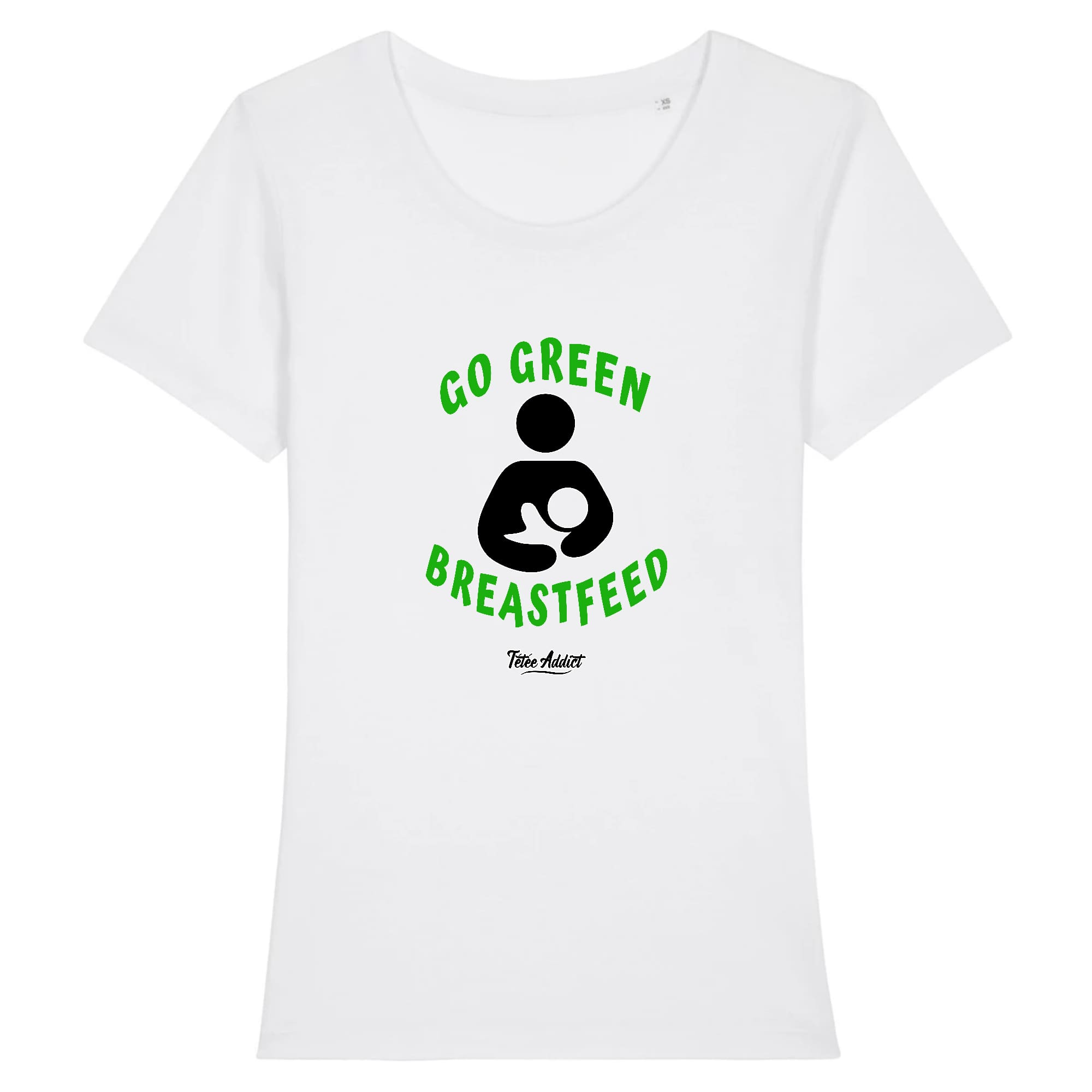 T-shirt Allaitement - Go Green Breastfeed
