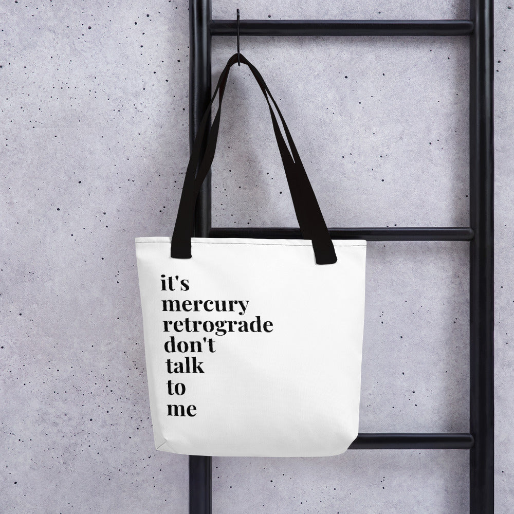 Mercury Retrograde Tote bag