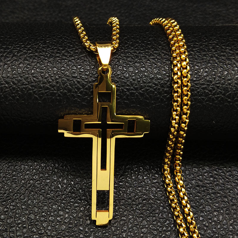 Vision Cross necklace