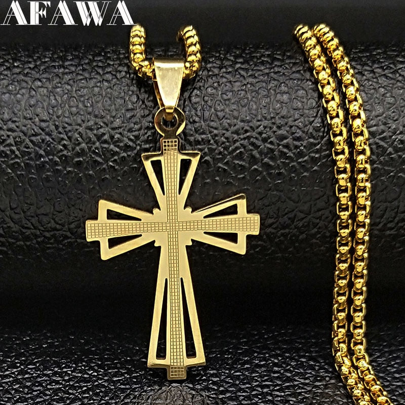 Radiant Cross necklace