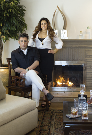 John Moinzad, founder of Forged Modern, and his sister and business partner, Sasha Moinzad