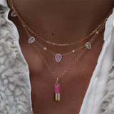 Nogama Luna Skye Happy Pill Ruby Necklace