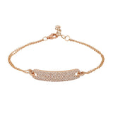 Diamond Pavé Bar Bracelet Nogama