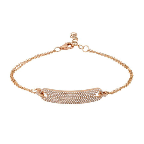 Diamond Pavé Bar Bracelet