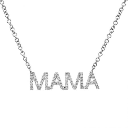 Nogama Collection MAMA Diamond Necklace