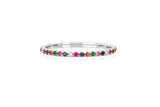 EF Collection Rainbow Eternity Band Ring