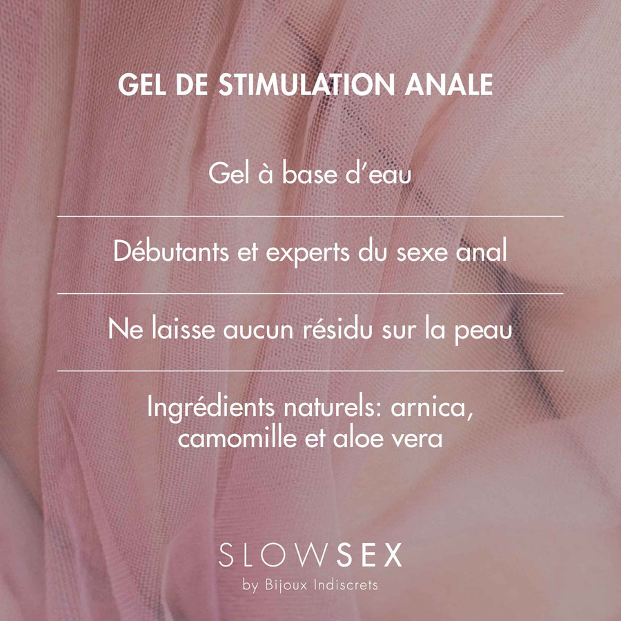 Anal Play Gel · Gel de stimulation anale.