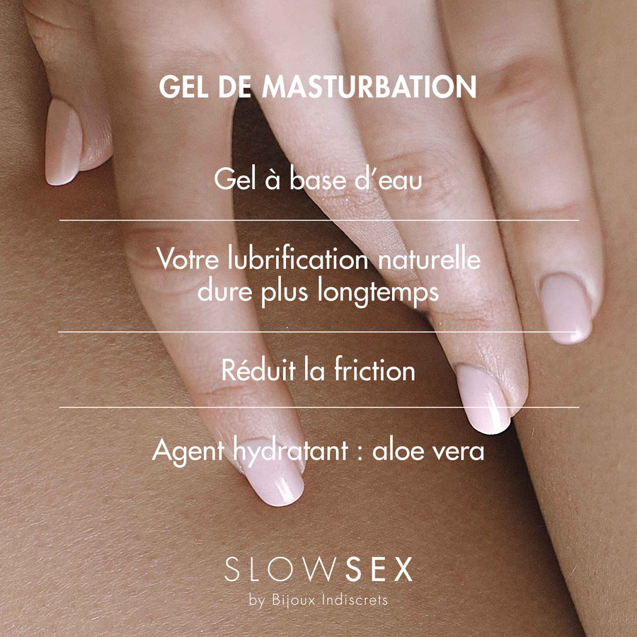 Finger Play Gel · Gel de masturbation