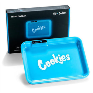 Blue GLOW Tray x COOKIES