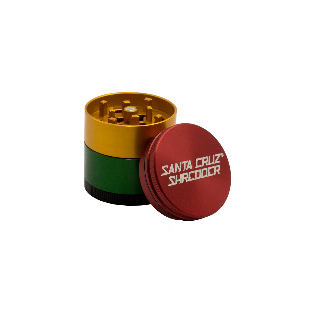 Santa Cruz™ Small 3-Piece Shredder - Rasta