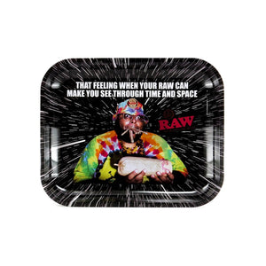 "RAW Rolling Tray / ""Oops"" / Large"
