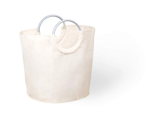 Collapsible Small Hamper with Aluminum Carry Handle