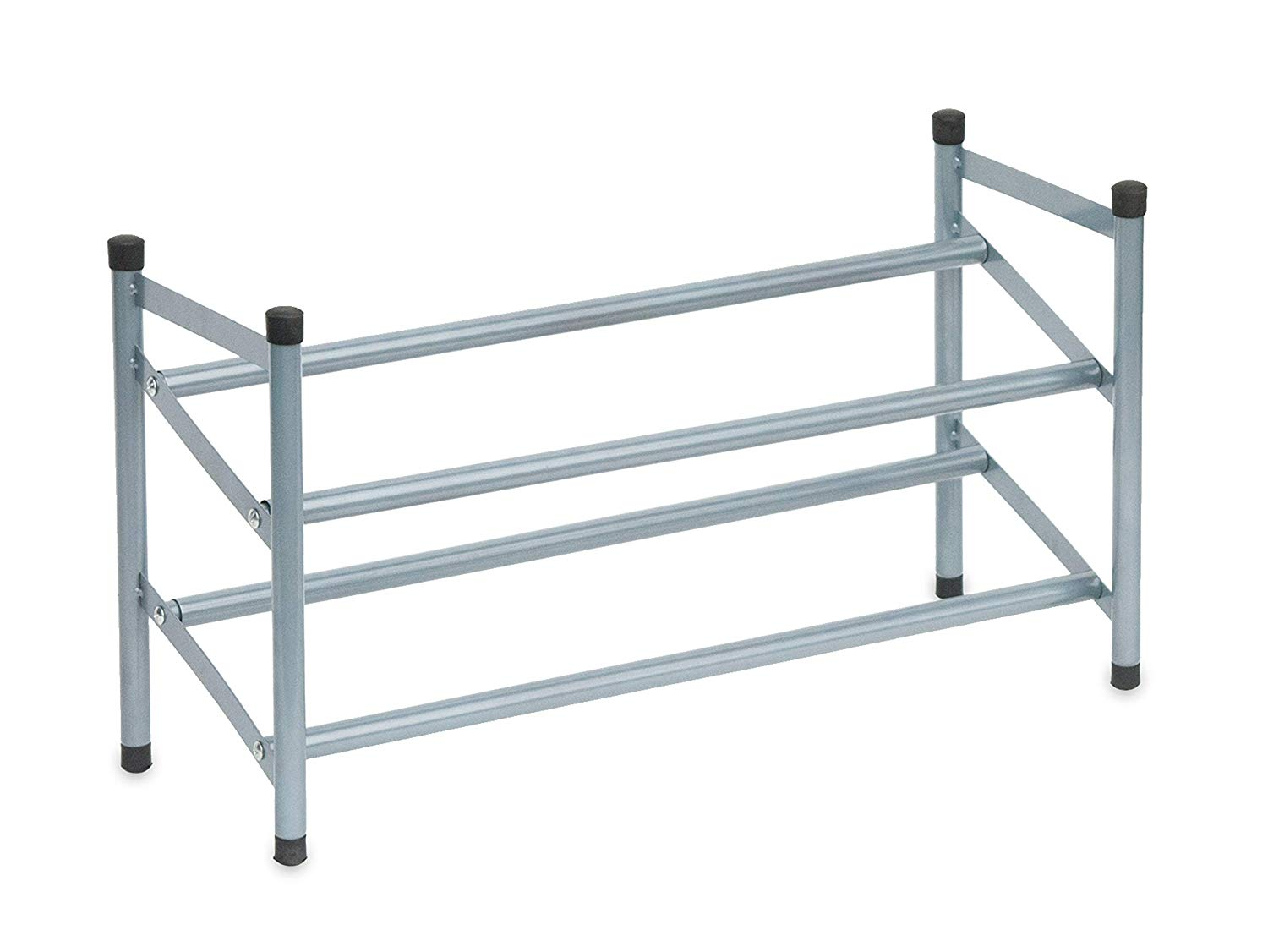 Expandable 2-Tier Shoe Rack Organizer