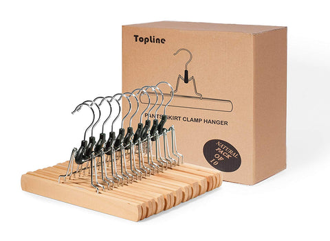 Pant and Skirt Hangers - Clamp