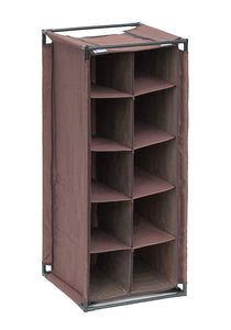 5-Tier Portable Shoe Tower Closet Rack Organizer